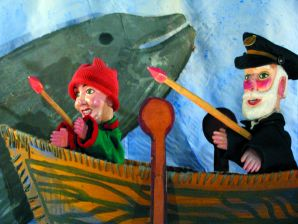 Théâtre de marionettes - Pêche à la baleine