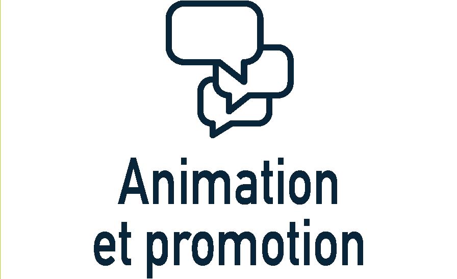 animation et promotion