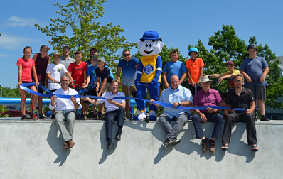 Inauguration du nouveau Skatepark Optimiste